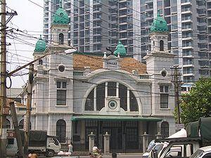 Beijing–Guangzhou Railway - Dazhimen Station in Hankou, the original southern terminal of the Jinghan Railway