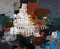 Hanoos. Babel III (Técnica mixta, 65x 81 cm).jpg