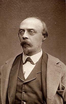 Hans von Bülow (auf einer frühen Visitenkarte) (Quelle: Wikimedia)