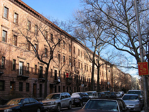 Harlem strivers row West 139th Street by Stanford White