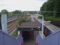 Harringay station footbridge towards northbound.JPG