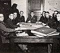 Harrison Jr., Lee Gerow, Crawford, Eisenhower, Leonard Gerow, Handy, Sherrill, McKee, MacKelvie at the meeting of War Plans Division.jpg