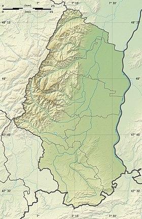 Carte Alsace Thann.Thann Wikipedia