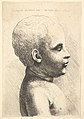 Head and shoulder of a child, in profile to right MET DP823703.jpg