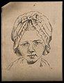 Head of a boy. Drawing, c. 1794. Wellcome V0009206ER.jpg