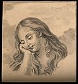Head of a penitent Magdalene. Drawing, c. 1794. Wellcome V0009220.jpg