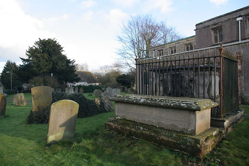File:Headstones and tombs - geograph.org.uk - 1691928.jpg