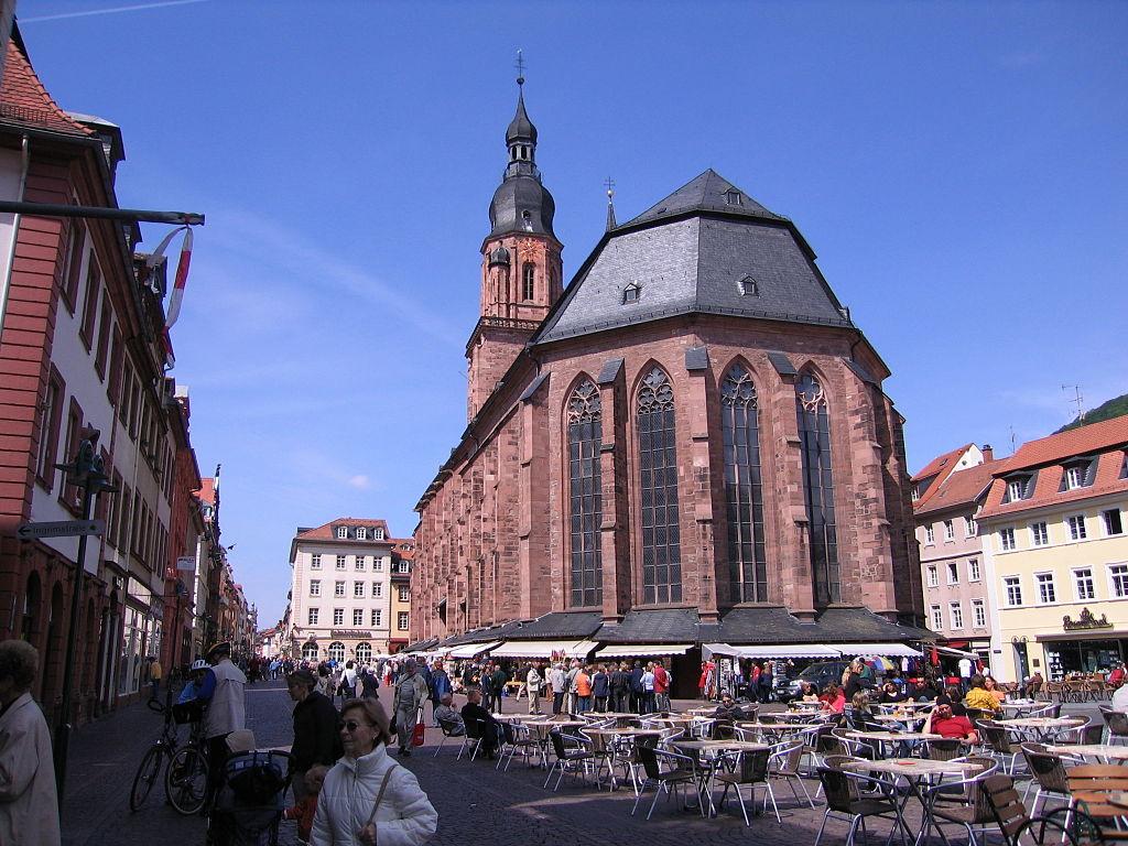 Heidelberg-Heiliggeistkirche