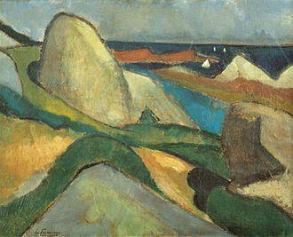 Henri Le Fauconnier - Ploumanac'h, 1908, Bergen, Museum Kranenburgh
