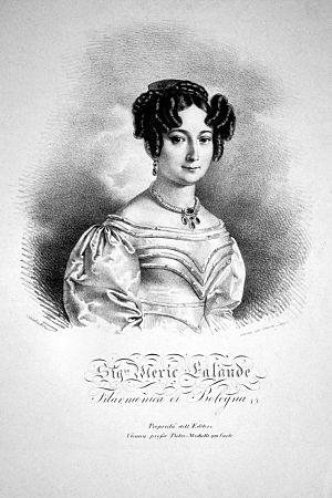 Henriette Méric-Lalande - Henriette Meric-Lalande, Lithograph by Josef Kriehuber,about 1827
