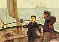 Henry Scott Tuke - The Steering Lesson.jpg