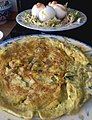 Herb 'frittata' and boiled easter eggs.jpg