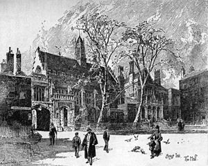 Herbert Railton - Gray's Inn, London (1895)