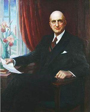 James Hampton Kirkland - Portrait by Ella Sophonisba Hergesheimer (1938)