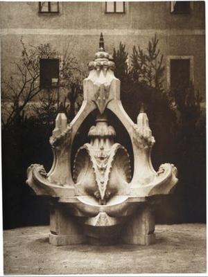 Hermann Obrist - A fountain by Obrist