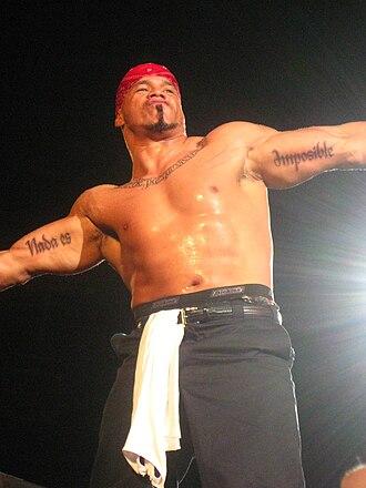 Hernandez (wrestler) - Hernandez in 2011