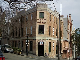 Hero of Waterloo Hotel - The hotel in 2012