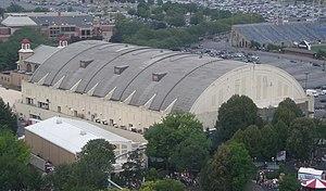 Hersheypark Arena - Aerial view