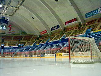 Hersheypark Arena - View from ice level