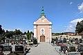 Herzogenburg - Kriegergedenkkapelle und Friedhof.JPG