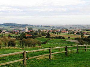 Heuvelland - Image: Heuvelland vanaf de Rodeberg