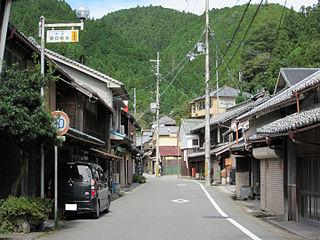 Village in Kansai, Japan