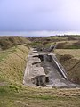 High-angle gun emplacements facing east at the Verne Battery - geograph.org.uk - 25121.jpg