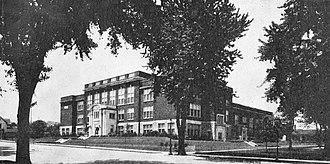 McClain High School (Greenfield, Ohio) - The Edward Lee McClain High School, 1922
