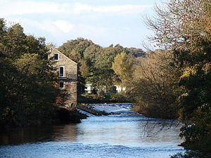 Addingham - Image: High Mill At Addingham(David Rogers)Oct 2008