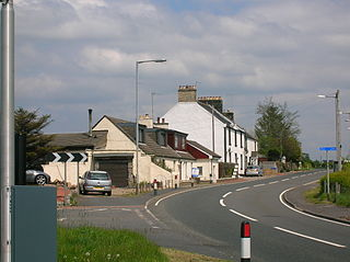 Highfield, North Ayrshire Human settlement in Scotland