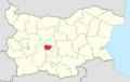 Hisarya Municipality Within Bulgaria.png