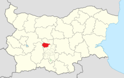 Hisarya Municipality Within Bulgaria.png