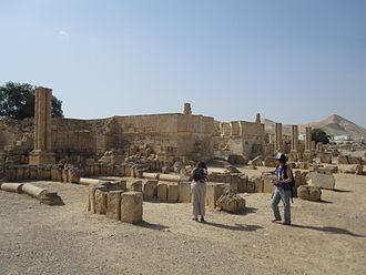 Hisham's Palace - The palace