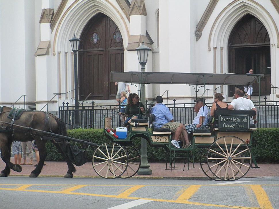 Historic carriage tour, Savannah, GA IMG 4726