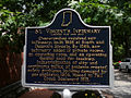 Historical Marker for St. Vincent's Infirmary in Indianapolis.jpg