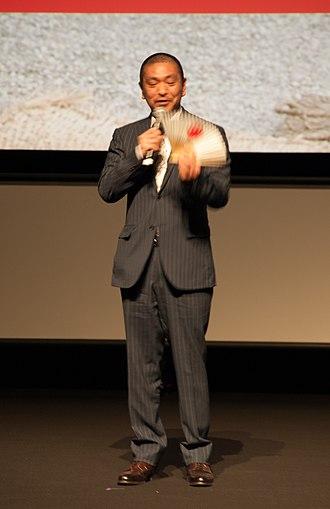 Hitoshi Matsumoto - Matsumoto at Saya Zamurai premiere in Tokyo, 2011.
