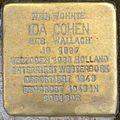 Hofgeismar-Stolperstein-Ida-Cohen-CTH.JPG