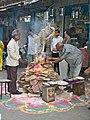 Holika Dahan preparations, Jodhpur, Rajasthan.jpg