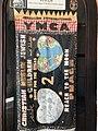 Holy Land 2017 P001 Jerusalem International YMCA Children YMCA Friendship Banner from Space Shuttle Atlantis.jpg