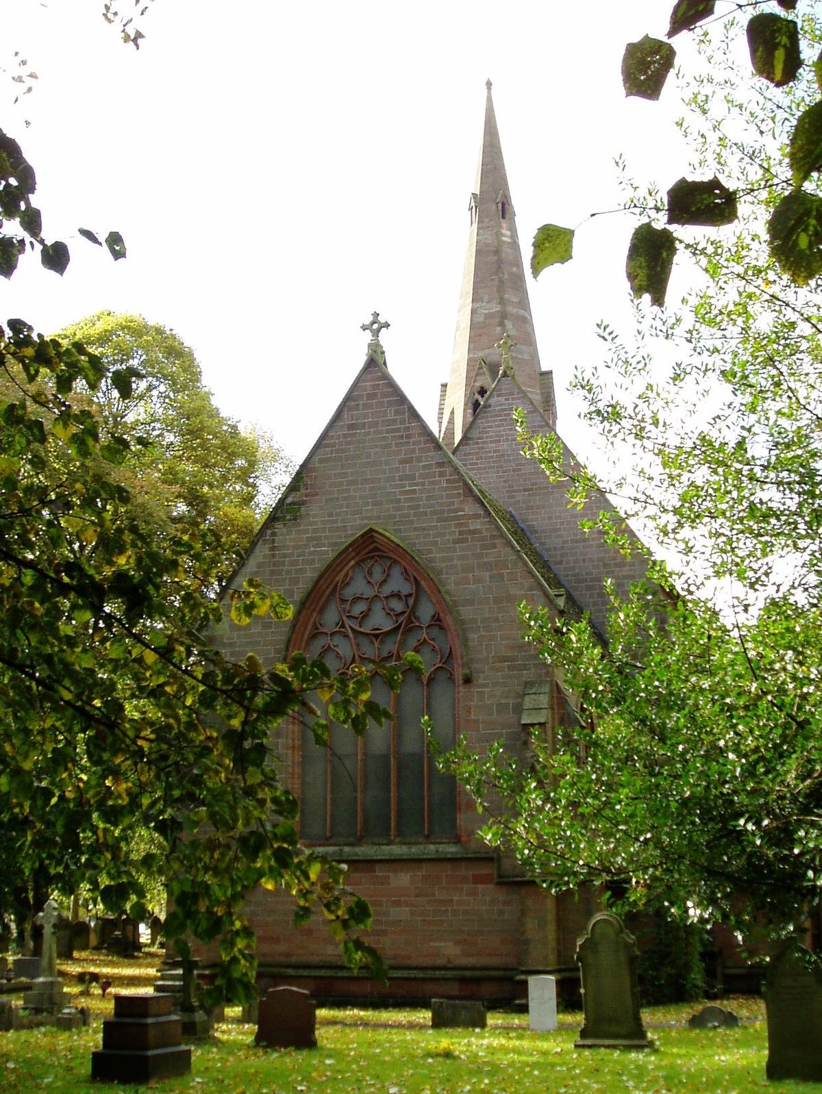 Holy Trinity Church Heath Town Wikipedia