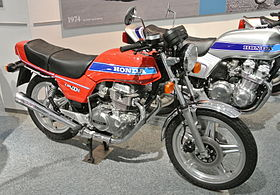Honda CB400N in the Honda Collection Hall.JPG