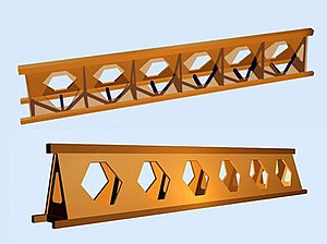 Launching gantry - Honeycomb girder