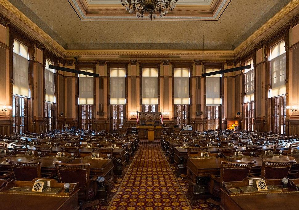 House Chamber, Georgia State Capitol, Atlanta 20160718 1