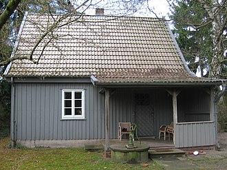 Arno Schmidt - Arno Schmidt's house in Bargfeld.