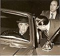 Hoveyda and his car.jpg