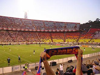 Hrazdan Stadium - The stadium in 2008