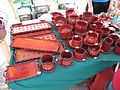Hrnčířské trhy Beroun 2011, červená keramika.JPG