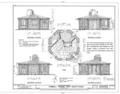 Hubbell Trading Post, Guest Hogan, Ganado, Apache County, AZ HABS ARIZ,1-GANA,1H- (sheet 1 of 3).png