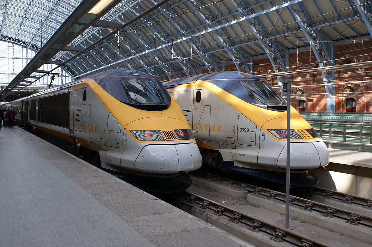 Eurostar Paris Londres Train Hotel