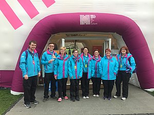 Hull UK City of Culture 2017 - Group of volunteers